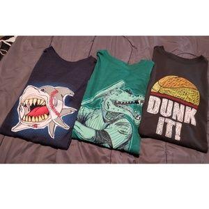 3 set of boys shirts